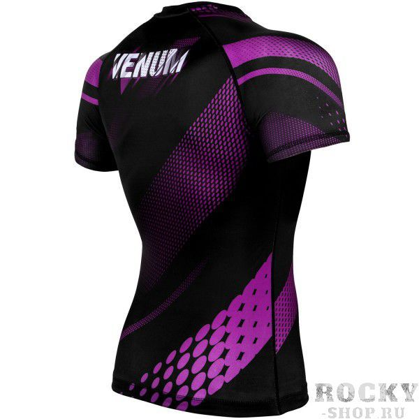 Рашгард Venum Rapid Black/Purple S/S