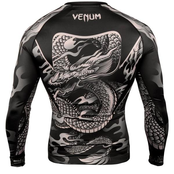 Рашгард Venum Dragons Flight Black/Sand L/S