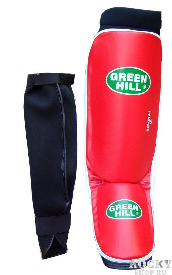 Защита голень + стопа COVER, размер M, M Green HillЗащита тела<br>Материал: ПолипропиленВиды спорта: Кикбоксингдлина голени 29 см,ширина 14,5 см,длина стопы 15см, ширина стопы 11,5см. Выполнены из кож.заменителя, защитная подушка из полипропилена ширина 1,5см.<br>