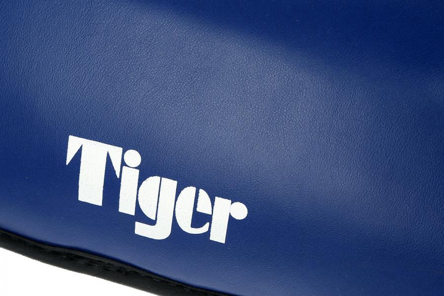 Защита голени Tiger, размер XXL, XXL Green HillЗащита тела<br>Материал: Натуральная кожаВиды спорта: Кикбоксинг, Таэквондо, КаратэДлина 38смширина 13смТощина наполнителя 3смматериал кожа<br><br>Цвет: Синий