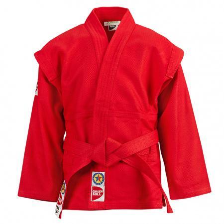 Купить Куртка для САМБО Green Hill JUNIOR 180 см (арт. 10032)