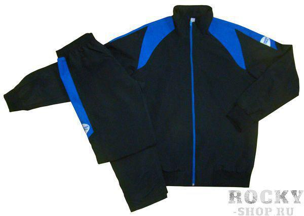 Костюм спортивный, Черный/синий Green HillСпортивные костюмы<br>Спортивный костюм. материал: полиэстер.<br><br>Размер INT: M