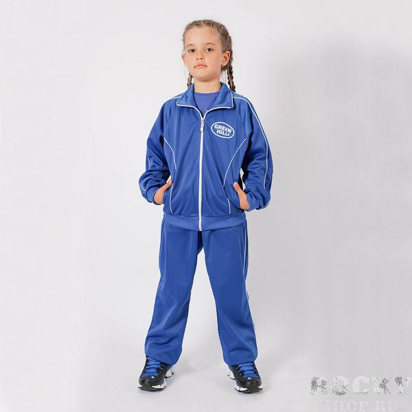 Детский спортивный костюм , Синий Green HillСпортивные костюмы<br>Спортивный костюм. материал: полиэстер.<br><br>Размер INT: 36