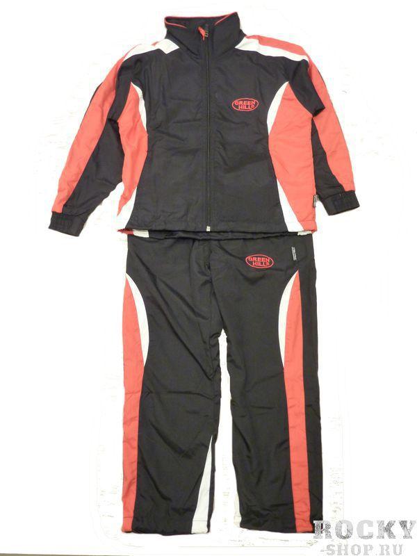 Костюм спортивный детский дзюдо , Черный/красный Green HillСпортивные костюмы<br>Спортивный костюм. материал: полиэстер.<br><br>Размер INT: 10 лет