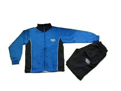 Детский спортивный костюм/синий с черным/ , Синий Green HillСпортивные костюмы<br>Спортивный костюм. материал: полиэстер.<br><br>Размер INT: 10 лет