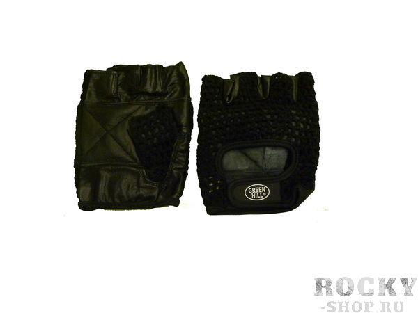 Перчатки для фитнеса WLG-6406 Green HillПерчатки для фитнеса<br>Перчатки вело/тяжелоатлетические. Сделаны из кожи. Верх перчаток покрыт х/б сеткой. На запястье - ремень на липучке.<br><br>Размер: S