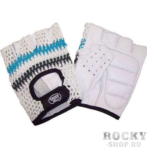 Перчатки для фитнеса WLG-6421 Green HillПерчатки для фитнеса<br>Перчатки вело/тяжелоатлетические. Сделаны из кожи и х/б сетки.<br>