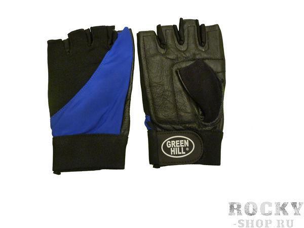 Перчатки для фитнеса WLG-6423 Green HillПерчатки для фитнеса<br>Перчатки вело/тяжелоатлетические. Сделаны из кожи. Верх плкрыт эластиком. На запястье ремень на липучке.<br>