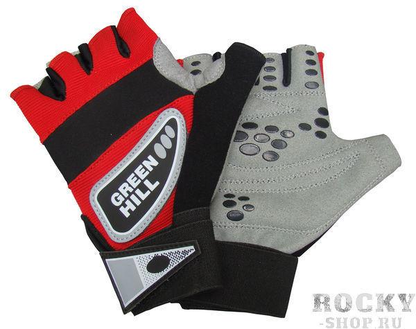 Купить Перчатки для фитнеса wlg-6472 Green Hill черный (арт. 10088)