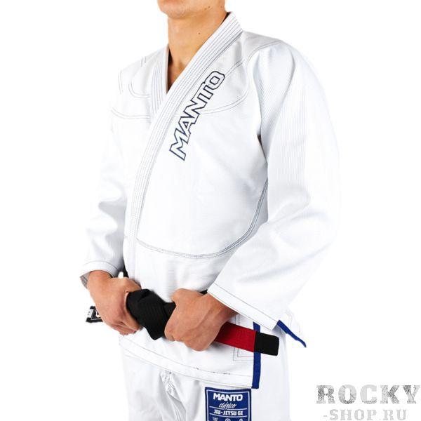 Кимоно для БЖЖ Manto Clasico MantoЭкипировка для Джиу-джитсу<br>Кимоно (ги) для бжж (бразильского джиу-джицу) Manto Clasico. Идеальное сочетание цена/качество. Достаточно лёгкое ги. Благодаря высокому качеству материалов и отделки это кимоно становится идеальным выбором для соревнований по BJJ. - Плотность 450 GSM - В области колен штаны дополнительно укреплены. - Воротник, наполнен пеной ЕВА для более быстрого высыхания и комфорта. Подойдет для соревнований различного уровня. Ги сделано из цельного куска ткани (без швов на спине)!Штаны на шнурке; на поясе - дополнительные петли для того, чтобы шнурок держал штаны прочно;данное ги подойдет и для новичков, и для мастеров роллинга. При стирке в горячей воде возможна усадка порядка 5%. Стирать ги рекомендуется в мягкой воде до 30 градусов без отбеливателя. Состав: 100% хлопок высокого качества.<br><br>Размер: A3