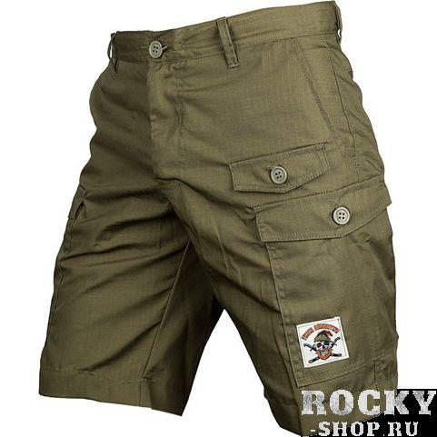 Шорты-карго Варгградъ Зелёные ВаргградСпортивные штаны и шорты<br>Шорты карго Варгградъ Зелёные. На шортах расположено множество карманов. Уход: машинная стирка в холодной воде, деликатный отжим, не отбеливать.<br><br>Размер INT: M