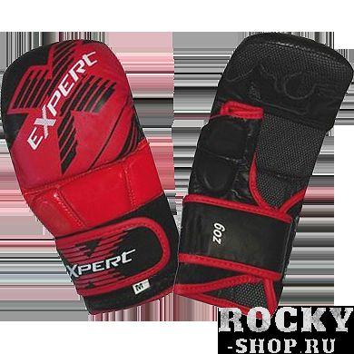 Гибридные перчатки Flamma, L FlammaПерчатки MMA<br>Гибридные перчатки Flamma Expert. Предусмотрена защита большого пальца. Идеальное соотношение цена/качество. Состав: искусственная кожа! Вес: 6 Oz.<br>