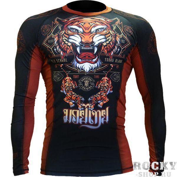 Купить Рашгард Hardcore Training Tiger (арт. 10337)