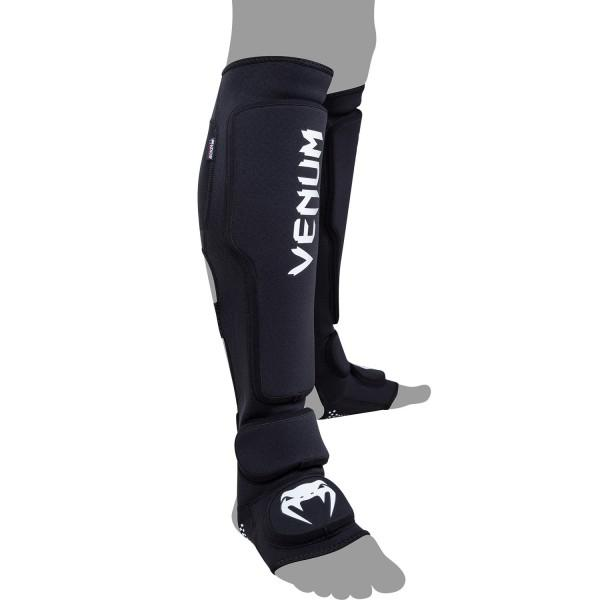 Купить Щитки Venum Kontact Evo Shinguards - Black (арт. 10408)