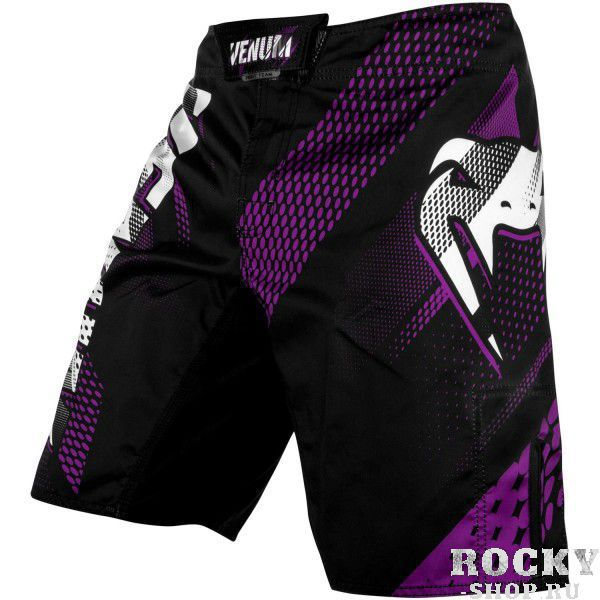Шорты ММА Venum Rapid Black/Purple