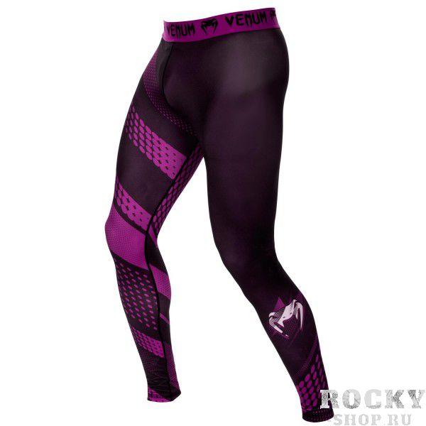 Купить Компрессионные штаны Venum Rapid Black/Purple (арт. 10426)
