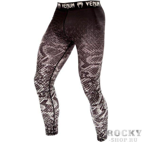 Купить Компрессионные штаны Venum Tropical Black/Grey (арт. 10430)