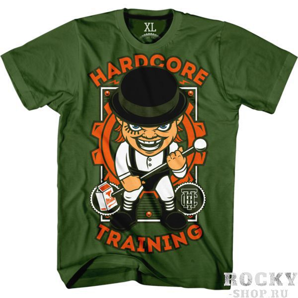 Футболка Hardcore Training A Clockwork Orange