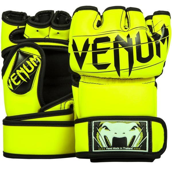 Купить Перчатки ММА Venum Undisputed 2.0 Neo Yellow (арт. 10460)