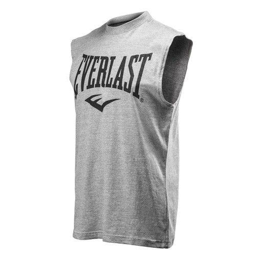 Майка Everlast Composite, Серая EverlastФутболки / Майки / Поло<br>Модель футболки без рукавов под горло. &amp;nbsp;Логотип Everlast напечатан на груди&amp;nbsp;Состав модели в сером цвете: 70% хлопок, 30% полиэстер.&amp;nbsp;Машинная стирка в холодной воде.<br>