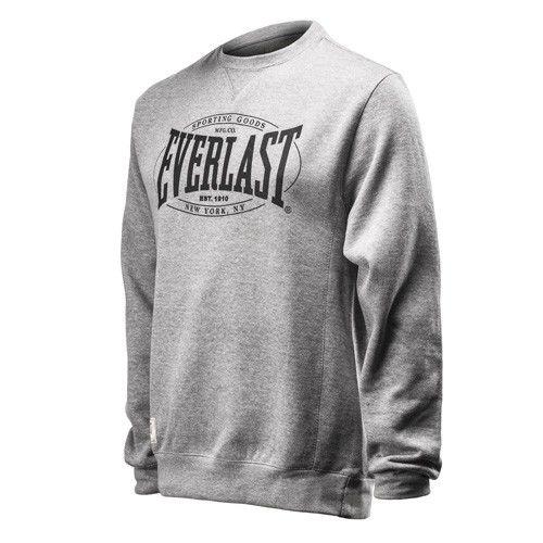 Купить Свитшот Everlast Authentic серый (арт. 10516)