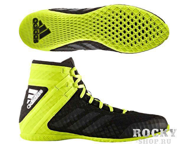 Детские боксерки Adidas Speed Legend черно-желый (арт. 10569)  - купить со скидкой