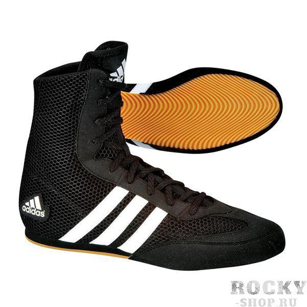Детские боксерки BOX HOG Adidas чёрные (арт. 10575)  - купить со скидкой