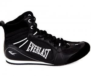 Детские боксерки Everlast Low-Top Competition черн. (арт. 10578)  - купить со скидкой