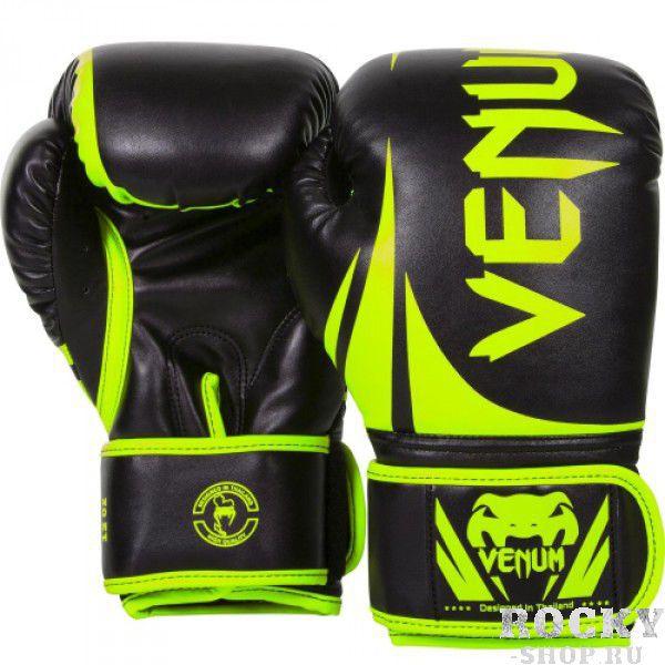 Купить Перчатки боксерские Venum Challenger 2.0 Neo Yellow/Black 14 oz PSd-venboxglove047 (арт. 10667)