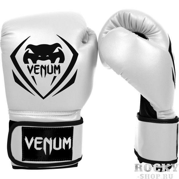 Перчатки боксерские Venum Contender - Ice, 10 oz VenumБоксерские перчатки<br>Перчатки боксерские Venum Contender - Ice выдержат любой мощный удар, будь то джеб, кросс, хук или апперкот. Сделаны из 100% синтетической кожи с высоким сроком службы. Их изогнутая анатомическая форма обеспечивает гибкость и комфорт. Многослойный пенный наполнитель с легкостью поглащает все удары. Большая надежная застежка на липучке дает надежную фиксацию запястья, минимизируя риск возникновения травмы на тренировках. Отработка, спарринг, работа на мешках или лапах - боксерские перчаткиVenum Contender непременно приведут Вас к успеху!Особенности:- 100% синтетическая кожа с высоким сроком службы- многослойная пена для идеального поглощения ударов- широкая застежка на липучке для надежной фиксации запястья- большой палец полностью закреплен, что не дает его выбить<br>
