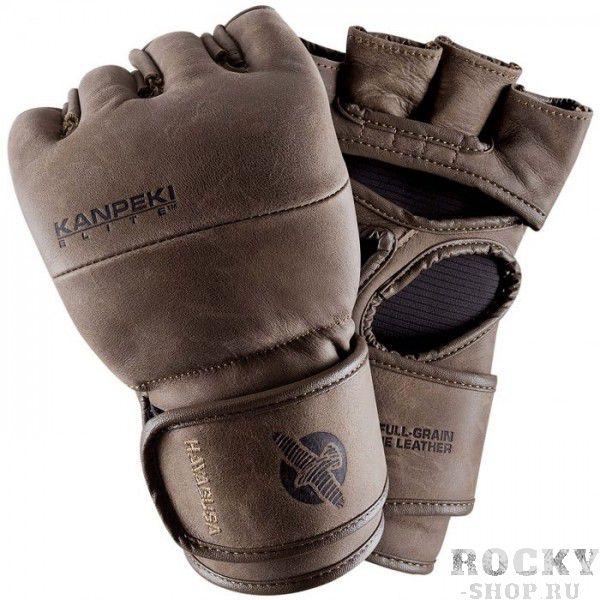 Перчатки ММА Hayabusa Kanpeki Elite 3.0 4oz HayabusaПерчатки MMA<br>Перчатки ММА Hayabusa Kanpeki Elite 3 4oz - третье поколение элитной модели для спортсмена, который требует абсолютного совершенства. Все тот же симбиоз классических традиций и самых современных мировых технологий. Единственные перчатки ММА, сшитые из 100% полнозерновой натуральной кожи, в которых используются запатентованные технологии защиты. Технология Dual-X обеспечивает максимальную поддержку запястья. Уникальный внутренний наполнитель позволяет защитить Вашу руку даже в самых тяжелых ситуациях. Внутренняя подкладка разработана таким образом, что Ваши руки остаются сухими даже во время интенсивной работы. Созданы для самого требовательного спортсмена, подойдут для тренировок в зале, так и для соревнований мирового уровня.<br><br>Размер: M