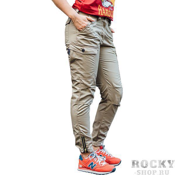 Женские штаны-карго Варгградъ Песок ВаргградСпортивные штаны и шорты<br>Женские штаны-карго Варгградъ Песок. Состав: хлопок/полиэстер. Уход: Машинная стирка в холодной воде, деликатный отжим, не отбеливать!<br><br>Размер INT: XS