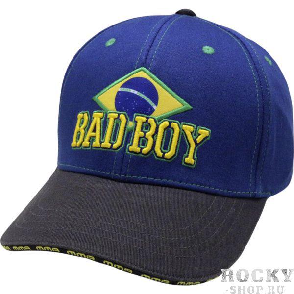 Бейсболка Bad Boy Brazilian Bad BoyБейсболки / Кепки<br>Бейсболка (кепка) Bad Boy Brazilian. Логотип Bad Boy качественно вышит. Бейсболка хорошо сидит на голове благодаря всемирно известной системе Flexfit. Условия доставки бейсболки Bad Boy.<br>