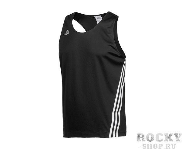 Купить Детская майка боксерская Base Punch Top черная Adidas (арт. 10751)