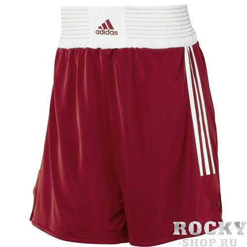 Купить Детские шорты боксерские Box Shorts Classic Men красные Adidas (арт. 10764)