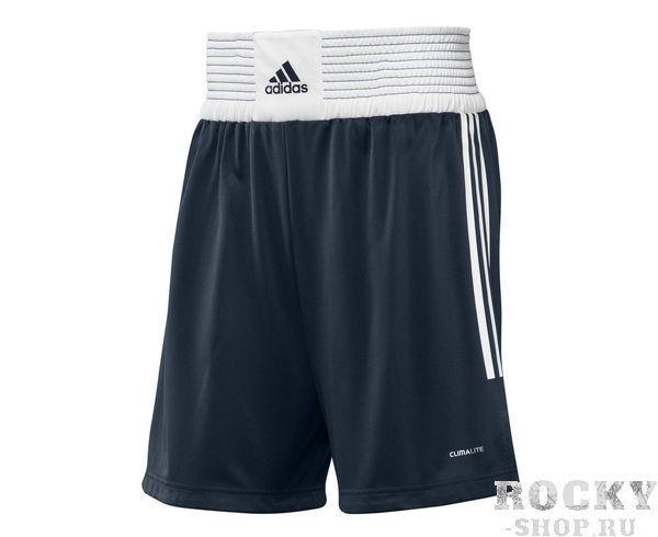 Купить Детские шорты боксерские Box Shorts Classic Men синие Adidas (арт. 10765)