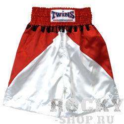 Купить Детские боксерские шорты Twins Special красный/черный (арт. 10772)