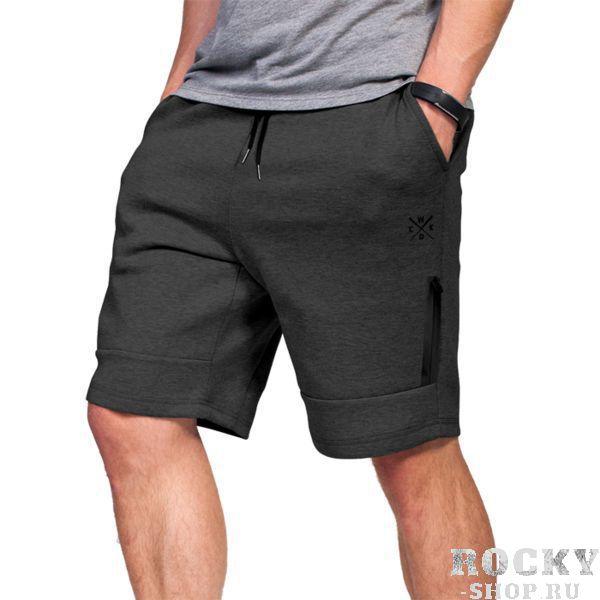 Детские шорты Wicked One Gris Grey Wicked OneДля бокса<br>Шорты Wicked One Reach Gris Grey. Великолепные шорты для повседневного использования. На шортах присутствуют два боковых кармана и ещё дополнительный небольшой карман на фронтальной части, который застёгивается на молнию. На поясе шорты удерживаются с помощью довольно широкой резинки и шнурка. Состав: 70% хлопок, 25% полиэстер, 5% спандекс.<br><br>Размер: S