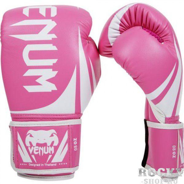 Купить Детские перчатки боксерские женские Venum Challenger Pink (арт. 10902)