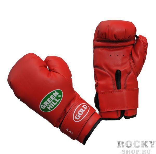 Купить Детские детские боксерские перчатки Green Hill gold 6 унций (арт. 10907)