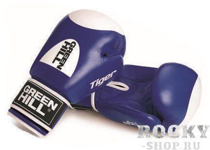 Купить Детские перчатки tiger с таргетом Green Hill 8 oz (арт. 10927)