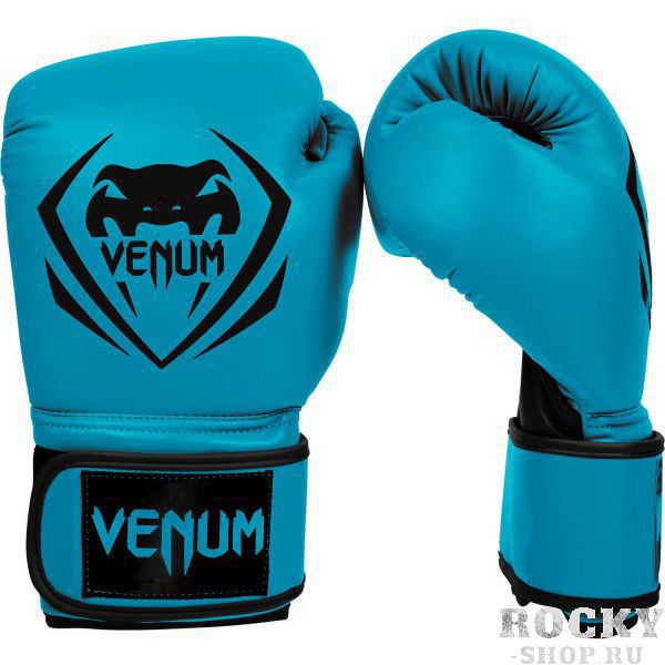 Купить Детские перчатки боксерские Venum Contender - Blue 8 унций (арт. 10934)