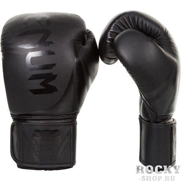 Купить Детские перчатки боксерские Venum Challenger 2.0 Neo Black 8 унций