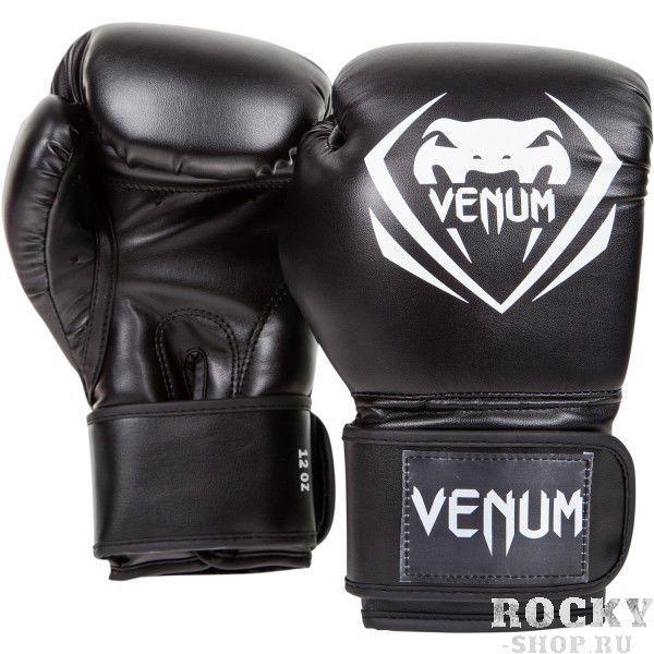 Купить Детские перчатки боксерские Venum Contender - Black 8 унций (арт. 10936)