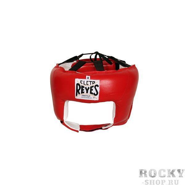 Детский боксерский шлем, соревновательный, Размер S Cleto ReyesДля бокса<br>Идеальная анатомическая форма<br> Ремешок и шнурки для лучшей регулировки<br> Мягкая подстежка в задней части головы<br> Отличный обзор<br> Материал - 100% кожа<br><br>Цвет: Синий