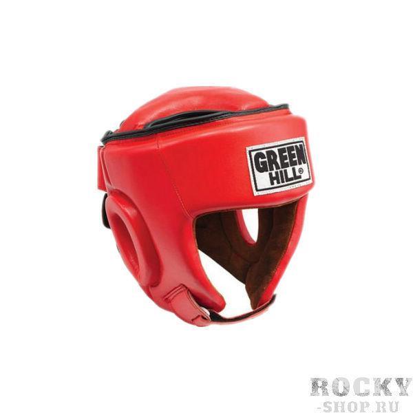Детский боксерский шлем best соревновательный, M Green HillДля бокса<br>Материал: Натуральная кожаВиды спорта: БоксШлем Best. Пошит из высококачественной натуральной кожи. Предназначен для тренировок и соревнований. Двойная система крепления на липучке. С защитой теменной области. Размер: При подборе шлема следует также учесть, что размеры шлемов можно регулировать за счет специальных застежек. Для выбора шлемов, ориентируйтесь на следующие данные: охват головы - размер 48-53 см - S 54-56 см - М 57-60 см – L 61-63 см - XL<br> Защищает от травм<br> Защита верхней части головы<br> Застёжка-липучка на затылке и подбородке<br> Материал - 100% кожа<br> Гипоаллергенный материал подкладки<br><br>Размер: S