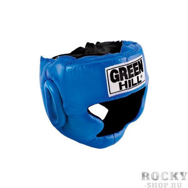 Купить Детский боксерский шлем super Green Hill синий (арт. 10946)