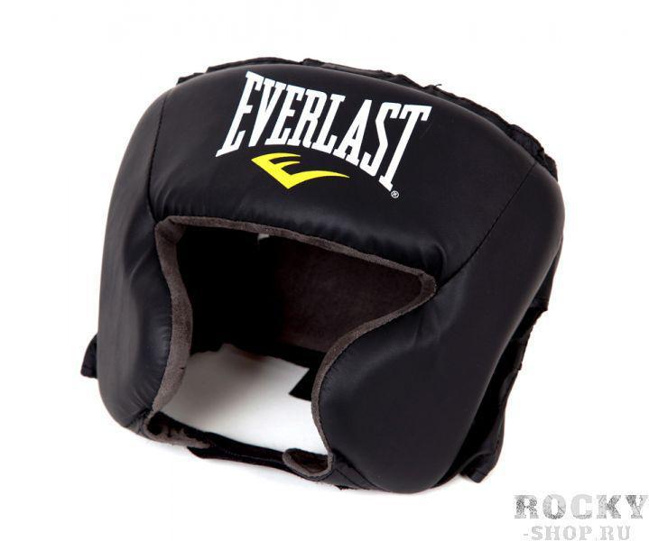 Детский боксерский шлем Everlast Durahide. EverlastДля бокса<br>Everlast Durahide Headgear - невесомый и комфортабельный шлем для выступлений на любительских и профессиональных состязаниях. Отлично защищает от синяков и рассечений, в то же в ходе обеспечивая первоклассную видимость. Изготовлен из первоклассного искусственной кожи DuraHide™, что гарантирует долговечность и износостойкость шлема. Плотный пенистый наполнитель превосходно смягчает удары, намного снижая риск получить травму. Благодаря регулируемым ремешкам на затылке, подбородке и макушке, шлем плотно фиксируется на голове, препятствуя случайному смещению.<br>