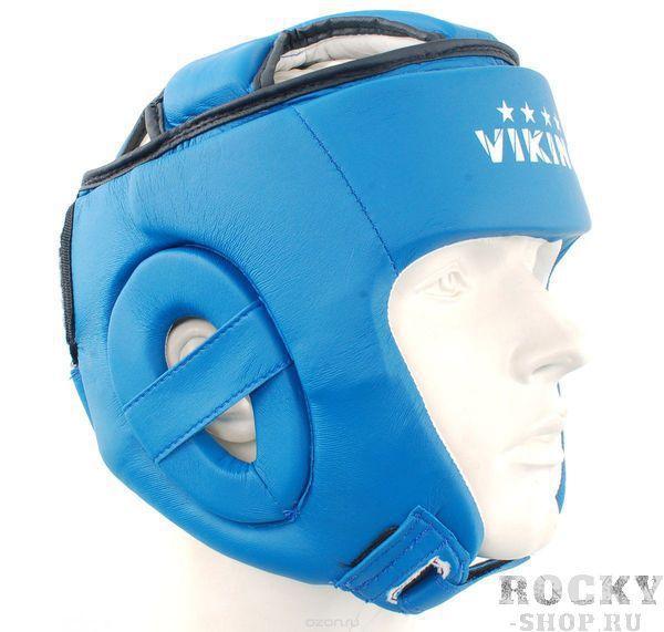 Купить Детский боксерский шлем Viking Top Protection PU V2495 синий (арт. 10985)