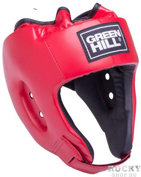 Детский шлем для бокса alfa , Красный Green HillДля бокса<br>Материал: Искусственная кожаВиды спорта: БоксШлем сделан из высококачественной искусственной кожи. Двойная система крепления позволит надежно зафиксировать шлем. Подходит как для тренировок, так и для соревнований. Размер:При подборе шлема следует также учесть, что размеры шлемов можно регулировать за счет специальных застежек. Для выбора шлемов, ориентируйтесь на следующие данные:охват головы - размер48-53 см - S54-56 см - М57-60 см – L61-63 см - XL<br><br>Размер: S